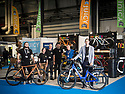 27/09/18<br /> <br /> ***Free photo for social media use***<br /> <br /> L/R: Daniel Rutter (Juicy), Sarah Wales (Juicy), Kevin Finnerty (Neomouv), Alasdair Halstead (Juicy), Bob Wales (Juicy) and Ivan Alonso (Neomouv).<br /> <br /> Juicy Neomouv stand at the Cycle Show, NEC, Birmingham<br /> <br /> <br /> All Rights Reserved, F Stop Press Ltd. (0)1335 344240 +44 (0)7765 242650  www.fstoppress.com rod@fstoppress.com