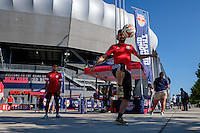 Harrison, NJ - Wednesday Aug. 03, 2016: Red Bull street team during a CONCACAF Champions League match between the New York Red Bulls and Antigua at Red Bull Arena.