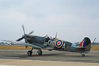 - Royal Air Force, Spitfire fighter aircraft of second World War....- Royal Air Force, aereo da caccia Spitfire della seconda Guerra Mondiale