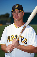 Pittsburgh Pirates Kevin Kramer poses for a photo after instructional league practice on October 2, 2015 at Pirate City in Bradenton, Florida.  (Mike Janes/Four Seam Images)