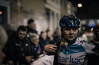 Laura Verdonschot (BEL/Marlux-Napoleon Games) post-race<br /> <br /> Women's Race<br /> Superprestige Diegem / Belgium 2017