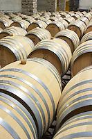 barrel aging cellar herdade do esporao alentejo portugal