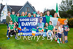 The family of David Kenny gathered at his home in Ballyhar on Friday morning to watch him compete in the Tokyo Olympics