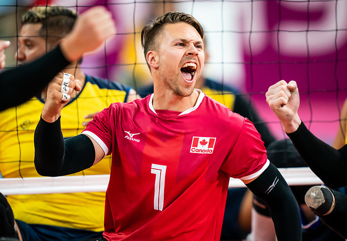 Jesse Ward, Lima 2019 - Sitting Volleyball // Volleyball assis.<br />