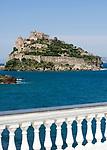 ITA, Italien, Kampanien, Ischia, vulkanische Insel im Golf von Neapel: Castello Aragonese | ITA, Italy, Campania, Ischia, volcanic island at the Gulf of Naples: Castello Aragonese