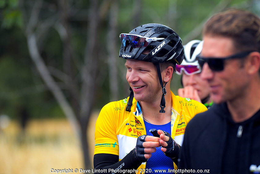 Aaron Gate (New Zealand/Black Spoke Pro Cycling Academy) after stage two of the NZ Cycle Classic UCI Oceania Tour (Gladstone circuit) in Wairarapa, New Zealand on Thursday, 16 January 2020. Photo: Dave Lintott / lintottphoto.co.nz