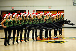13 December 2009: The University of Vermont Dance Team entertains the fans at a game against the Oklahoma State University Cowgirls at Patrick Gymnasium in Burlington, Vermont. The Lady Cats were unable to hold onto a second half lead, falling to the Cowgirls 68-63. Mandatory Credit: Ed Wolfstein Photo