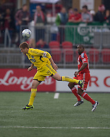 02 May 2009: Columbus Crew midfielder/forward Robbie Rogers #19 in action at BMO Field in a game between the Columbus Crew and Toronto FC. .The game ended in a 1-1 draw...