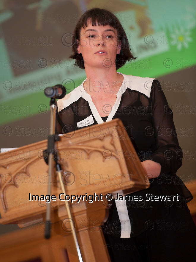 Litter Strategy Awards 2013 : Jessica Paterson, Falkirk Council Litter Strategy.