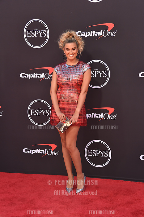 LOS ANGELES, USA. July 10, 2019: Tori Kelly at the 2019 ESPY Awards at the Microsoft Theatre LA Live.<br /> Picture: Paul Smith/Featureflash