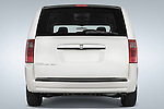 Straight rear view of 2008 Dodge Caravan