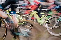 charging off (the race start)<br /> <br /> Superprestige cyclocross Hoogstraten 2019 (BEL)<br /> Elite Men's Race<br /> <br /> ©kramon