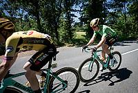Wout van Aert (BEL/Jumbo-Visma) <br /> <br /> Stage 5: Boën-sur-Lignon to Voiron (201km)<br /> 71st Critérium du Dauphiné 2019 (2.UWT)<br /> <br /> ©kramon