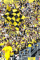 27 MARCH 2010:  The Crew Supporters section during the Toronto FC at Columbus Crew MLS game in Columbus, Ohio on March 27, 2010.