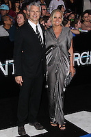 """WESTWOOD, LOS ANGELES, CA, USA - MARCH 18: Neil Burger, Diana Kellogg at the World Premiere Of Summit Entertainment's """"Divergent"""" held at the Regency Bruin Theatre on March 18, 2014 in Westwood, Los Angeles, California, United States. (Photo by Xavier Collin/Celebrity Monitor)"""