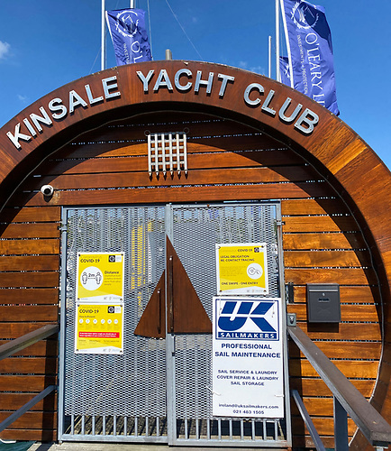 Cork-based UK Sailmakers will be on-site at this week's O'Leary Insurances Sovereign's Cup Regatta at Kinsale Yacht Club