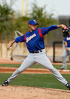 Corey Ragsdale -Texas Rangers - 2009 spring training.Photo by:  Bill Mitchell/Four Seam Images