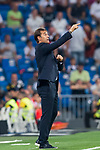 Manager Julen Lopetegui of Real Madrid gestures during the La Liga 2018-19 match between Real Madrid and Getafe CF at Estadio Santiago Bernabeu on August 19 2018 in Madrid, Spain. Photo by Diego Souto / Power Sport Images