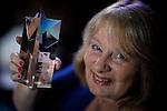 © Joel Goodman - 07973 332324 . 02/03/2017 . Manchester , UK . Lifetime achievement winner JOY KINGSLEY of JMW . The Manchester Legal Awards at the Midland Hotel . Photo credit : Joel Goodman