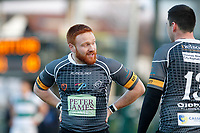 Nottingham Rugby FC feel the match escaping them during the Championship Cup Quarter Final match between Ealing Trailfinders and Nottingham Rugby at Castle Bar , West Ealing , England  on 2 February 2019. Photo by Carlton Myrie / PRiME Media Images.