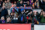 FC Barcelona's supoorter during La Liga match between FC Barcelona and Real Madrid at Camp Nou Stadium in Barcelona, Spain. October 28, 2018. (ALTERPHOTOS/A. Perez Meca)