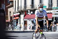 World Champion  Mads Pedersen (DEN/Trek Segafredo) pre race<br /> <br /> Stage 5 from Gap to Privas 183km<br /> 107th Tour de France 2020 (2.UWT)<br /> (the 'postponed edition' held in september)<br /> ©kramon