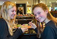 Rotterdam, The Netherlands, 14 Februari 2019, ABNAMRO World Tennis Tournament, Ahoy, Sushi<br /> Photo: www.tennisimages.com/Henk Koster