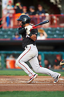 Richmond Flying Squirrels second baseman Ali Castillo (7) during a game against the Erie SeaWolves on May 27, 2016 at Jerry Uht Park in Erie, Pennsylvania.  Richmond defeated Erie 7-6.  (Mike Janes/Four Seam Images)