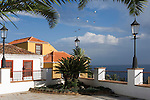 Spain, Canary Islands, La Palma, San Andres: historical old town, Plaza (square) San Andres