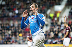Hearts v St Johnstone…05.11.16  Tynecastle   SPFL<br />Joe Shuaghnessy reacts after his goal is ruled off-side<br />Picture by Graeme Hart.<br />Copyright Perthshire Picture Agency<br />Tel: 01738 623350  Mobile: 07990 594431