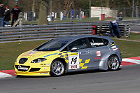 Round 1 of the 2006 British Touring car Championship. #14 James Thompson. (GBR). SEAT Sport UK. SEAT Leon.
