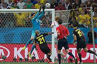 São Paulo, Brazil - June 26, 2014: Belgium defeated South Korea 1-0 at Arena Corinthians Stadium.