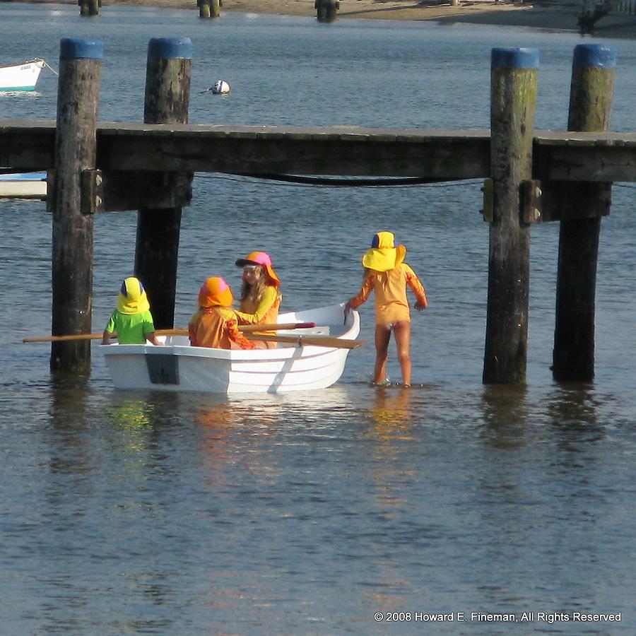Girls at Play, Nantucket