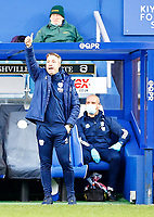 31st October 2020; The Kiyan Prince Foundation Stadium, London, England; English Football League Championship Football, Queen Park Rangers versus Cardiff City; Cardiff City Manager Neil Harris praising players