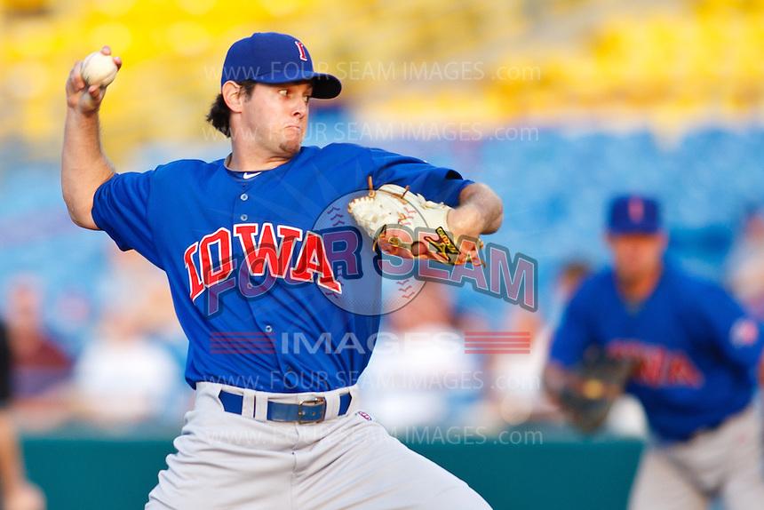 July 2nd, 2010 Casey Coleman (17) in action during MiLB play between the Iowa Cubs and the Omaha Royals. Iowa Cubs won 5-3 at Rosenblatt Stadium, Omaha Nebraska.