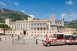Principality of Monaco, on the French Riviera (Côte d'Azur), district Monaco-Ville: Prince's Palace of Monaco | Fuerstentum Monaco, an der Côte d'Azur, Stadtteil Monaco-Ville: Fuerstenpalast Palais Princier