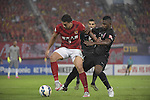 Action - 2nd Leg - Guangzhou Evergrande vs Al Ahli