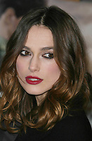 Keira Knightley, 12-03-07, Photo By John Barrett/PHOTOlink