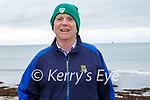 Brendan Moriarty enjoying a stroll in Ballyheigue on Sunday.