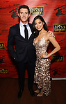 """Alistair Brammer and Eva Noblezada attend The Opening Night After Party for the New Broadway Production of """"Miss Saigon"""" at Tavern on the Green on March 23, 2017 in New York City"""