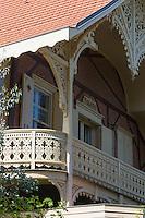 France, Gironde (33),Bassin d'Arcachon, Arcachon: Villa Toledo dans la ville d'hiver //  France, Gironde, Bassin d'Arcachon, Arcachon: Villa Toledo in the winter city