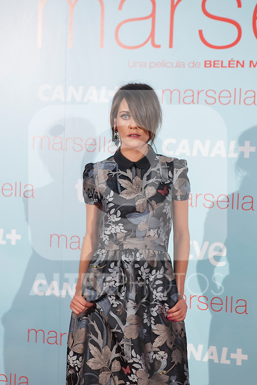 Maria Leon poses at `Marsella´ film premiere photocall at Capital cinema in Madrid, Spain. July 17, 2014. (ALTERPHOTOS/Victor Blanco)
