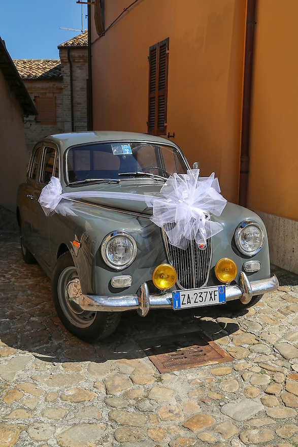 Lancia Car & Italian Wedding.