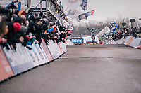 Eli Iserbyt (BEL/Marlux-Bingoal) winning the World Championships title<br /> <br /> U23 Men's Race<br /> UCI CX Worlds 2018<br /> Valkenburg - The Netherlands