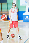 Xavi Rabaseda after the training of Spanish National Team of Basketball. August 07, 2019. (ALTERPHOTOS/Francis González)