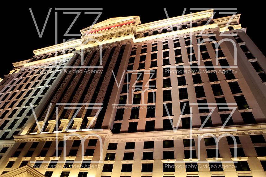 LAS VEGAS-ESTADOS UNIDOS. Hotel Cesar Palace de Las Vegas, sitio mas visitado por  turistas y residentes americanos. Photo: VizzorImage