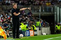 14th September 2021: Nou Camp, Barcelona, Spain: ECL Champions League football, FC Barcelona versus Bayern Munich: Ronald Koeman FC Barcelona coach