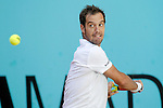 Richard Gasquet, France, during Madrid Open Tennis 2016 match.May, 2, 2016.(ALTERPHOTOS/Acero)