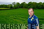 Fionann Fitzgerald at his farm in Ballymac on Tuesday.