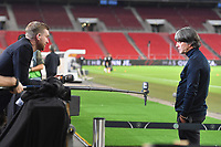 3rd September 2020; Stuttgart, Germany; UEFA Nations League football, Germany versus Spain; Per MERTESACKER during the interview with national coach Joachim Jogi LOEW,